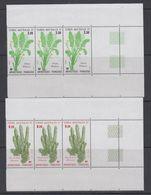 TAAF 1986 Plants 2v Strip Of 3 ** Mnh (TA236A) - Ongebruikt