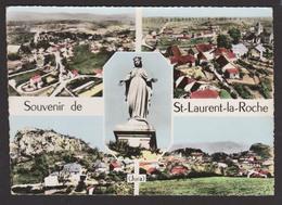 D 39 - SAINT-LAURENT-LA-ROCHE - Souvenir De - Ed. COMBIER - Multi-vues - CPSM 1964 - Francia