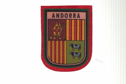 ECUSSON Tissu - ANDORRE - ANDORRA - Ecussons Tissu
