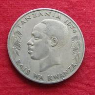 Tanzânia 1 Shilingi 1974 KM# 4 Tanzanie - Tanzanie