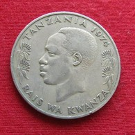 Tanzânia 1 Shilingi 1974 KM# 4 Tanzanie - Tanzanía
