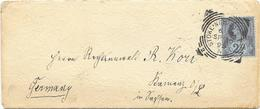 Letter Stoke Newington 1895 To Germany - 1840-1901 (Victoria)