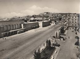 Cartolina - Postcard -   Viaggiata -  Sent  - Ancona Stazione Ferroviaria. ( Gran Formato )  Anni 50 - Ancona