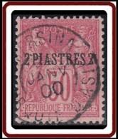Levant Bureaux Français 1885-1901 - Mersina / Turquie D'Asie Sur N° 5 (YT) N° 5 (AM). Oblitération De 1900. - Oblitérés