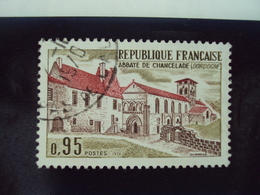 "70-79- Timbre Oblitéré N°  1645    ""  Abbaye De Chancelade      ""  0.30 - France"