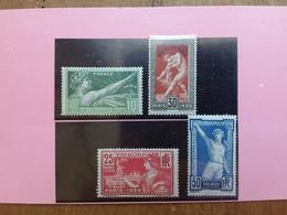FRANCIA - Olimpiadi Di Parigi 1924 - Nn. 183/86 Nuovi * + Spese Postali - France