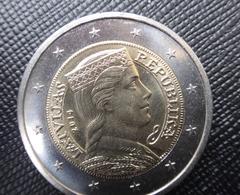 LETTLAND 2 EURO Kursmünze MÜNZEN 2014 Jahre LATVIA COIN  CIRCULATED XF - Lettonie