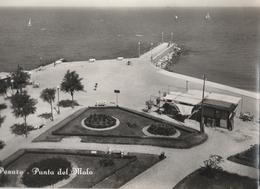 Cartolina - Postcard -   Viaggiata -  Sent  - Pesaro, Punta Del Molo. ( Gran Formato )  Anni 50 - Pesaro