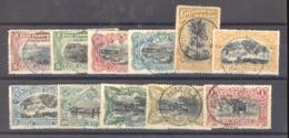 Belgique  -  Congo  :  Yv  15...26  (o)    11 Valeurs       ,    N3 - Belgisch-Kongo