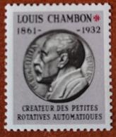 """France Rare Vignette Expérimentale Dite """"Chambon"""" Ch7** Luxe Gomme D'origine, Cote 4 €, Voir Les 2 Photos ! - Fictifs"""