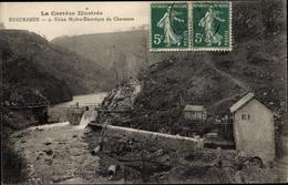 Cp Eygurande Corrèze, Usine Hydroélectrique Du Chavanon - Other Municipalities