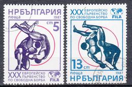 BULGARIJE - Michel - 1987 - Nr 3563/64 - Gest/Obl/Us - Bulgarie