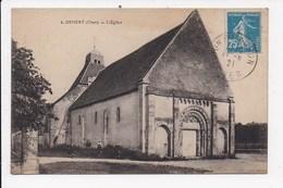 CPA 18 OSMERY L'église - France