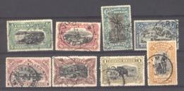 Belgique  -  Congo  :  Yv  64-71  (o)   ,    N3 - Belgisch-Kongo