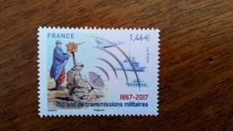 FRANCE 2017 - 150 Ans De Transmissions Militaires - 5172 - France