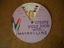 Carte Maybelline Disque Maquillage* - Modern (from 1961)
