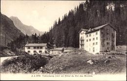 Cp Chamonix Mont Blanc Haute Savoie, Trélechamps, Hotel Du Col Des Montets - France