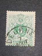 COB N ° 45 Oblitération Deurne - 1884-1891 Léopold II
