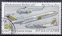 BULGARIJE - Michel - 1987 - Nr 3595 - Gest/Obl/Us - Bulgarie