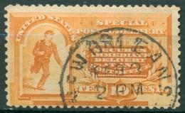 Etats Unis - 1884/1894 - Yt Timbres Pour Lettres Exprés Nº 5  - Oblitéré - Dominicaine (République)