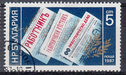 BULGARIJE - Michel - 1987 - Nr 3606 - Gest/Obl/Us - Bulgarie