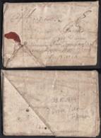 """France 1674 - Lettre Avec Courrier Particulaire 31/05/1674 De Dieppe Vers Paris Taxe """"5"""" (7G34626)DC2602 - ....-1700: Precursori"""