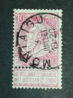 COB N ° 58 Oblitération Montaigu - 1893-1900 Fine Barbe