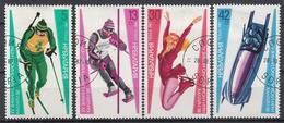 BULGARIJE - Michel - 1987 - Nr 3617/20 - Gest/Obl/Us - Bulgarie