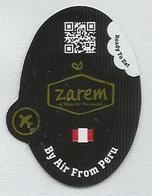 # MANGO ZAREM PERU BY AIR, Fruit Sticker Label Etiquette Etiqueta Adhesive Aufkleber Fruta Frucht - Fruit En Groenten