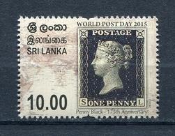 SRI LANKA 2015 WORLD POSTAGE DAY 2015 MNH - Sri Lanka (Ceylon) (1948-...)