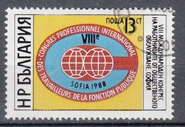 BULGARIJE - Michel - 1988 - Nr 3636 - Gest/Obl/Us - Bulgarie