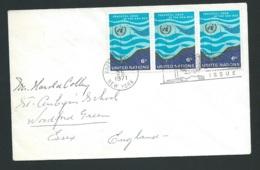 Lsc  Affranchie Pour La  Grande Bretagne En 1975 , Oblitéré United Nations New York   - Qaa5806 - New York -  VN Hauptquartier