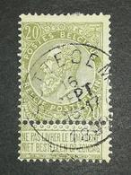 COB N ° 59 Oblitération Sottegem 1899 - 1893-1900 Fine Barbe