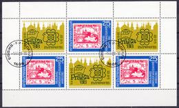 BULGARIJE - Michel - 1988 - Nr 3696A (Velletje) - Gest/Obl/Us - Blocs-feuillets