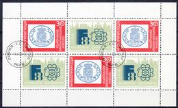 BULGARIJE - Michel - 1988 - Nr 3664A (Velletje) - Gest/Obl/Us - Blocs-feuillets