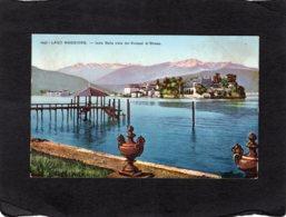 84986    Italia,  Lago  Maggiore,  Isola Bella  Vista Dal  Kursaal Di Stresa,    NV - Verbania