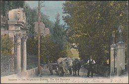 The Old Doorway, Polytechnic Chalets, Lucerne, 1905 - Postcard - LU Luzern