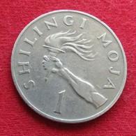 Tanzânia 1 Shilingi 1977 KM# 4 Tanzanie - Tanzania
