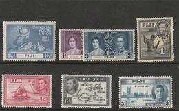 FIDJI - Lot 7 Timbres Ancien - Fidji (1970-...)