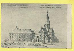 * Essen - Esschen (Antwerpen - Anvers) * Couvent Saint Gérard En Construction, Klooster, Cloitre, Rare, Old, CPA - Essen