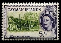 1955 Cayman Islands $5.00 Shillings - Cayman Islands
