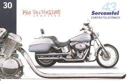 Télécarte Brésil  Moto Motor Bike Phonecard  (G 107) - Motorbikes