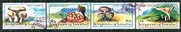 Lesotho 1983 Fungi Set Used (SG 532-535) - Lesotho (1966-...)