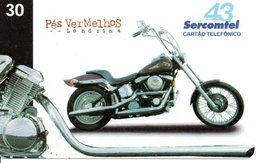 Télécarte Brésil  Moto Motor Bike Phonecard  (G 108) - Motorbikes