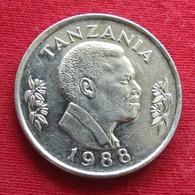 Tanzânia 1 Shilingi 1988 KM# 22 Tanzanie - Tanzanía