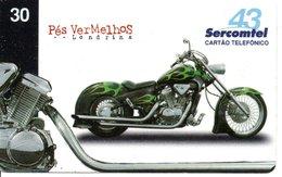 Télécarte Brésil  Moto Motor Bike Phonecard  (G 109) - Motorbikes