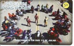 Télécarte Brésil  Moto Motor Bike Phonecard  Film Movie DVD (G 110) - Motos