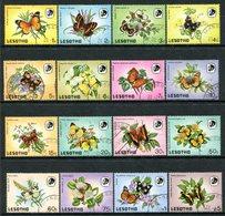 Lesotho 1984 Butterflies Set Used (SG 563-578) - Lesotho (1966-...)