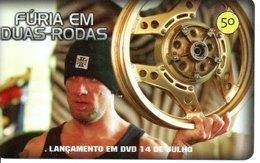 Télécarte Brésil  Moto Motor Bike Phonecard  Film Movie DVD Série Furia (G 111) - Motos