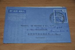 29-     AEROGRAMME FROM PAKISTAN TO AMSTERDAM - 1961 - Oude Documenten
